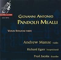 Pandolfi Mealli: Violin Sonatas (1994-02-01)