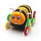 Best 子供のための電子玩具 - Tipmant 可愛い電動玩具面白いハニー・ビー360度タンブリングフリップカー電気自動車子供用ギフト Review