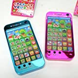 知育おもちゃ ペンちゃんタッチパネル スマートフォン型【ピンク色】 1個