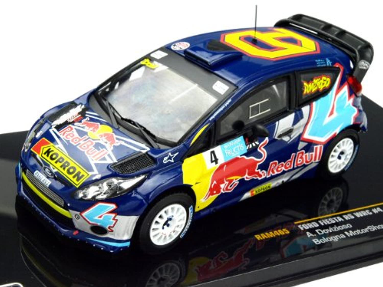 イクソ 1/43 フォード フィエスタ RS WRC ボローニャMS #4 完成品
