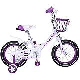Cyfie イギリスガール 子供用自転車  女の子向け 幼児自転車 補助輪付  キッズ サイクル  おもちゃ