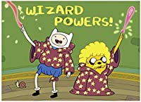 """Wizard Power MAGNET, Officially Licensed Products - 3.5"""" x 2.5"""" - High Quality MAGNET"""
