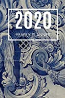 2020 Planner: Blue Tiles: Annual Planner (6 x 9 inches, weekly spreads, calendar, 136 pages)