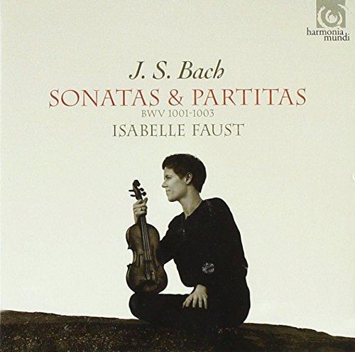 J.S.バッハ: 無伴奏ソナタ&パルティータ集 VOL.2 (J.S.Bach : Sonatas & Partitas BWV 1001-1003 / Isabelle Faust) [輸入盤]