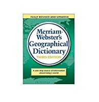 Merriam-Webster's Geographical Dictionary