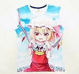〔MY Create〕東方Project Tシャツ フランドール・スカーレット (M)