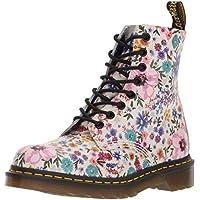 Dr Martens Pascal WL - Bone/Mallow Pink Wanderlust Backhand (Floral) Womens Boots