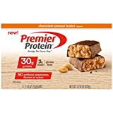 Premier Protein Nutrition Bar, Chocolate Peanut Butter, 30g Protein, 2.53 Ounce Bars by Premier Protein