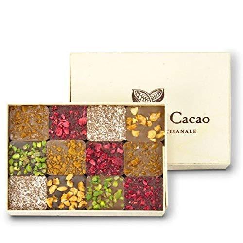 コントワール・ドュ・カカオ チョコレート プラリネ ギフトボックス (120g)