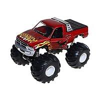 オフロードレーシングカー車両イナーシャカーバギーキッズコレクションインテリアおもちゃ - 赤, (L * W * H)10 * 12 * 17cm / 3.93 * 4.72 * 6.69インチ
