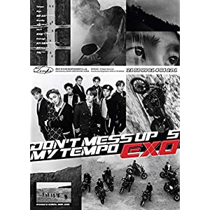 EXO-DON`T MESS UP MY TEMPO-正規5nd(Allegro/Moderato/Andante Ver.ランダム)(輸入盤)