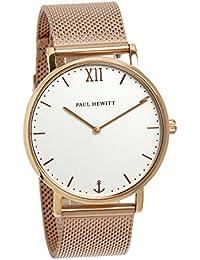 [ポールヒューイット]Paul Hewitt 腕時計 ウォッチ ローズゴールド メッシュベルト 39mm レディース [並行輸入品]