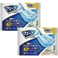 【まとめ買い】ウェーブ ハンディワイパー 掃除用 取替えシート 8枚×2個パック