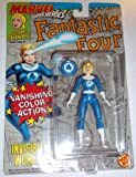 Marvel Super Heroes 1992 Vanishing color change INVISIBLE WOMAN Very rare cancelled figure toy biz fantastic four