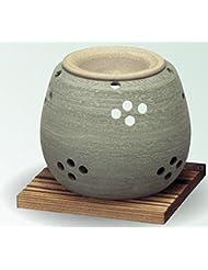 常滑焼 茶香炉(アロマポット)径10×高さ9cm