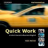 Quick Work Pre-Intermediate: Audio CD: Pre-intermediate level