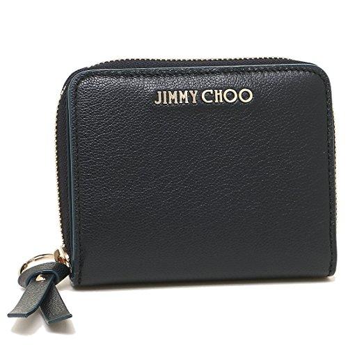 [ジミーチュウ] 折財布 レディース JIMMY CHOO REGINA GRZ NAVY ネイビー [並行輸入品]