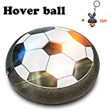 Hover Ball with Powerful LED Light HOWADE Led Flashing Air Power Soccer Sport Children Toys Training Football for Indoor or Outdoor with Parents Game