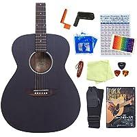アコースティックギター S.Yairi YF-04 アコギ 初心者 入門 13点セット ミディアムスケール BK [98765] 【検品後発送で安心】