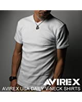 AVIREX(アビレックス)AVIREX USA DAILY V-NECK SHIRTS デイリー Vネック シャツ
