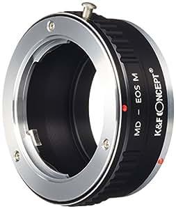 K&F Concept レンズマウントアダプター KF-SREM (ミノルタMD・MC│SRマウントレンズ → キャノンEF-Mマウント変換)