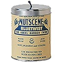NUTSCENE(ナッツシーン) Nutscene 缶入り麻ひも Blue 150m TIN250BL