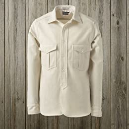 40s W-Pocket Work Shirt SN-12FW-42: White