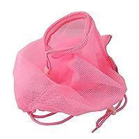 Honel 猫用 みのむし袋 おちつくネット シャンプー お風呂 爪切り 耳掃除 グルーミング 暴れない ピンク