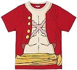 (ワンピース)ONE PIECE ONE PIECEなりきり半袖Tシャツ 12893245 10 レッド L (¥ 2,052)