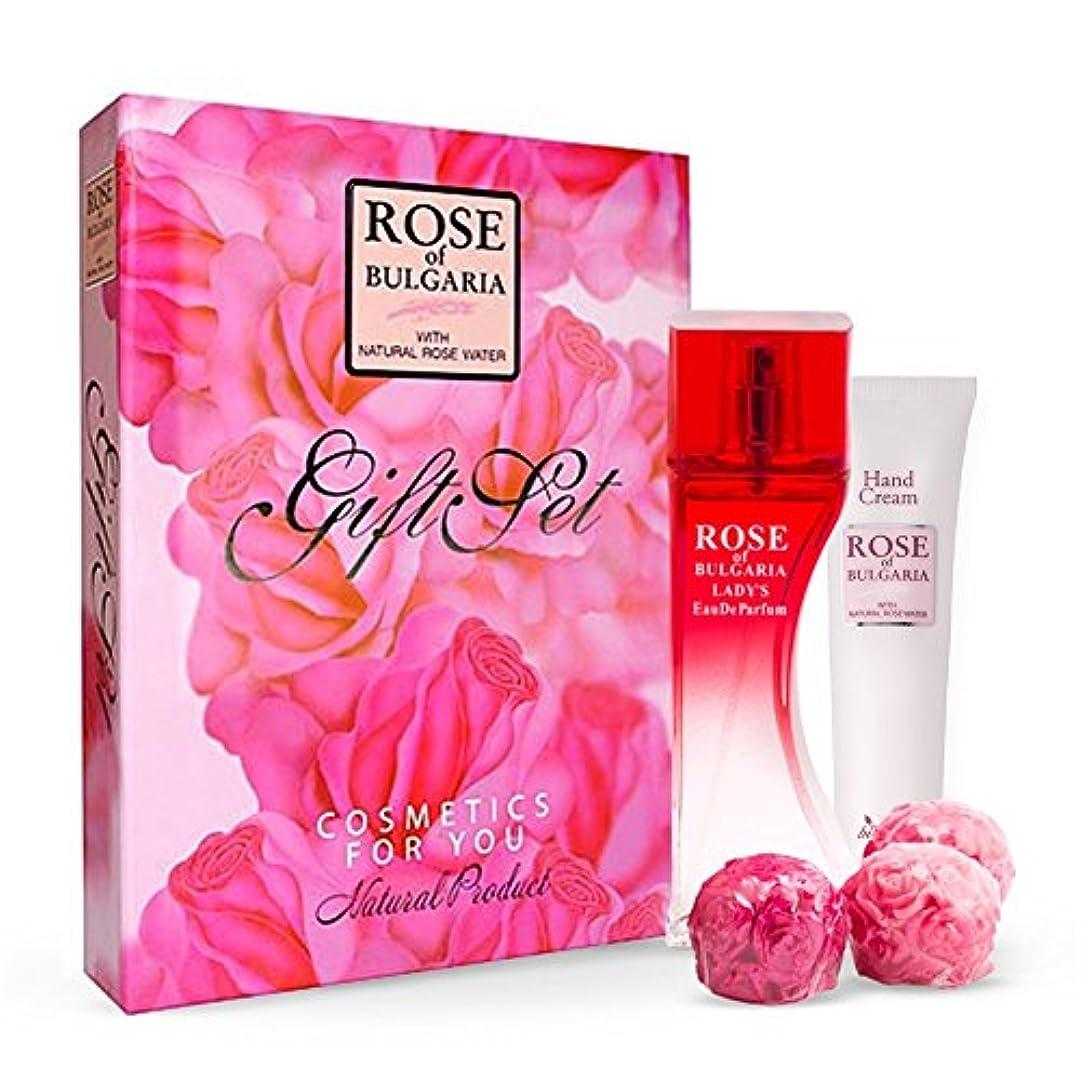 移民フリース労働Rose of Bulgaria(with natural Rose water) Giftset/ブルガリアのローズ(天然バラの水付き)ギフトセット