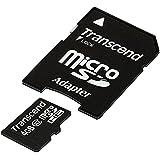 Transcend microSDHCカード 4GB Class10 (無期限保証) TS4GUSDHC10