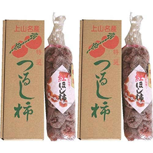 かき 柿 干し柿 山形県上山市産「紅干し柿」 32個×2箱