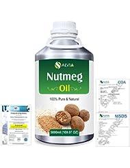 Nutmeg (Myristica fragrans) 100% Natural Pure Essential Oil 5000ml/169fl.oz.