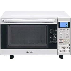 アイリスオーヤマ オーブンレンジ 18L フラットテーブル ホワイト MO-F1801