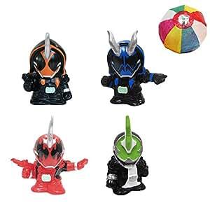 すくい人形 仮面ライダーゴースト 4種類セット/ お楽しみグッズ(紙風船)付きセット [おもちゃ&ホビー]