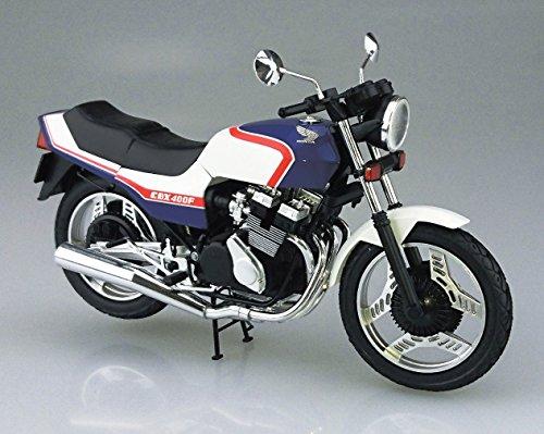 青島文化教材社 1/12 バイクシリーズ No.31 ホンダ CBX400F トリコロール プラモデル