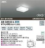 コイズミ照明 薄型流し元灯(直付・壁付取付)白熱球60W相当 AB38553L