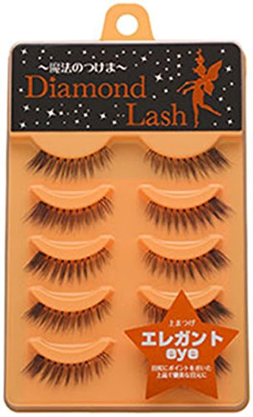 マインドフルシャイ学部ダイヤモンドラッシュ ヌーディースウィートシリーズ エレガントeye 上まつげ用 DL54601