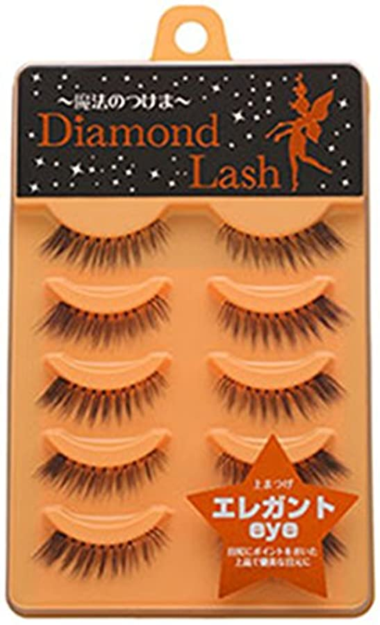 効果的に唇抽出ダイヤモンドラッシュ ヌーディースウィートシリーズ エレガントeye 上まつげ用 DL54601