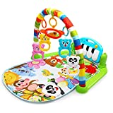 Kaichen Kick and Play Piano Gym, Baby Play Mat Newborn Toy, Lay, Sit and Play, Activity Toys, Game Crawling Mat Activity Fitn