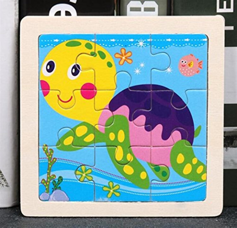 YChoice 知育パズル キッズ 漫画 木製ペグパズル 教育学習玩具 素晴らしいギフト 子供用