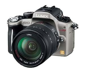 Panasonic デジタル一眼カメラ ルミックス GH2 レンズキット 高倍率ズームレンズ付属 シルバー DMC-GH2H-S