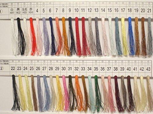 フジックス タイヤー絹ミシン糸 50番 130m 171色 3個1セット 色番:141
