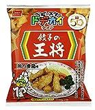 おやつカンパニー ドデカイラーメン餃子の王将鶏の唐揚げ味 66g×12袋