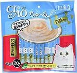チャオ (CIAO) ちゅ~る とりささみ かつお節ミックス味 14g×20本