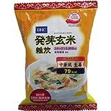 DHC 発芽玄米雑炊〈コラーゲン・寒天入〉 中華風生姜 1食入 ×12個