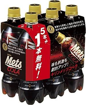 キリン メッツ コーラ (特定保健用食品) 480mlペット 5本パック+1本付き×4セット×2 まとめ買い