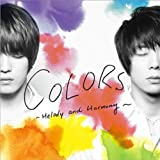 JEJUNG&YUCHUN (from 東方神起) 日本Single(韓国輸入盤) COLORS -Melody and Harmony