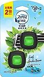 ファブリーズ 車用 クリップ型 消臭芳香剤 イージークリップ リーフガーデンブリーズ2mL×2個