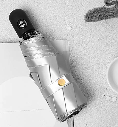 【2019最新版】XVZ 日傘 折りたたみ傘 ワンタッチ自動開閉 UVカット 遮光 遮熱 折り畳み傘 紫外線遮断 耐風撥水 メンズ レディース 軽量 晴雨兼用 (ブラック)